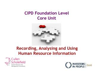 CIPD Foundation Level Core Unit