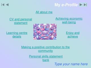 My  e-Profile