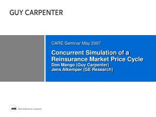 CARE Seminar May 2007
