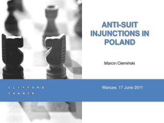 ANTI-SUIT INJUNCTIONS IN POLAND