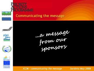 Communicating the message