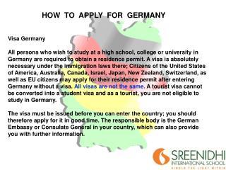Visa Germany