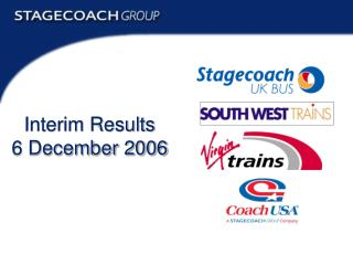 Interim Results 6 December 2006