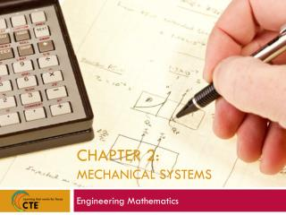 Chapter 2:  Mechanical Systems