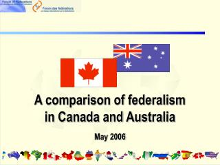 A comparison of federalism in Canada and Australia