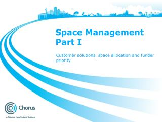 Space Management Part I