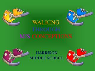 WALKING THROUGH MIS - CONCEPTIONS