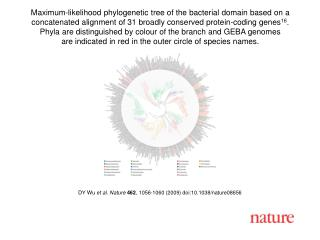 DY Wu  et al. Nature 462 , 1056-1060 (2009) doi:10.1038/nature08 656