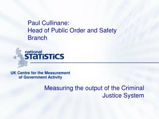 UK Centre for the Measurement of Government Activity