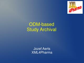 ODM-based  Study Archival