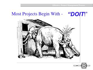 Most Projects Begin With -