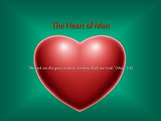 """""""Blessed are the pure in heart, for they shall see God."""" (Matt. 5:8)"""