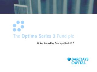 Notes issued by Barclays Bank PLC