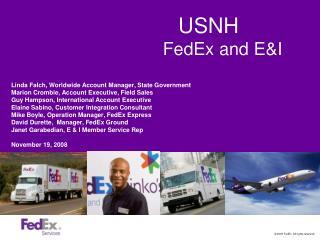 USNH FedEx and E&I