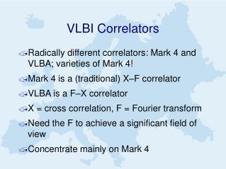VLBI Correlators