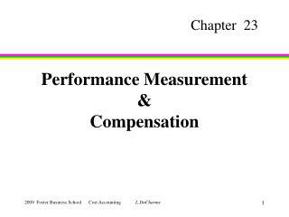 Performance Measurement & Compensation