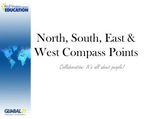 North, South, East & West  C ompass Points