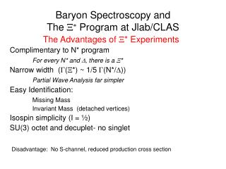 Baryon Spectroscopy and The  X *  Program at Jlab/CLAS