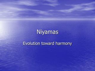 Niyamas
