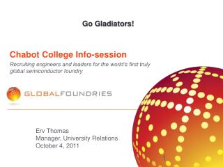 Chabot College Info-session