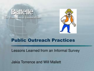 Public Outreach Practices