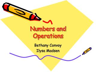 Numbers and Operations