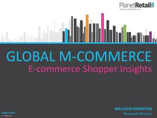 GLOBAL M-COMMERCE