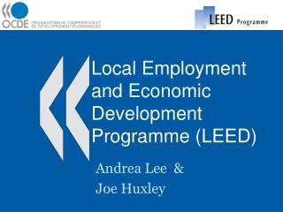 Local Employment and Economic Development Programme LEED