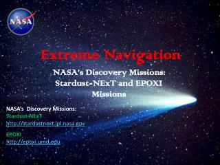 Extreme Navigation
