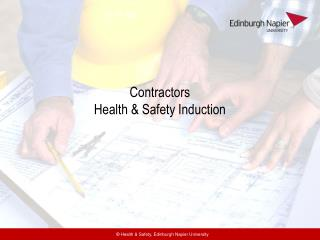 Contractors Health & Safety Induction