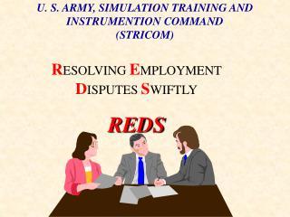 U. S. ARMY, SIMULATION TRAINING AND INSTRUMENTION COMMAND (STRICOM)