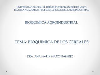 DRA. ANA MARIA MATOS RAMIREZ
