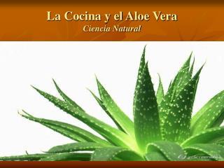 La Cocina y el Aloe Vera Ciencia Natural