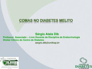 COMAS no diabetes  Melito