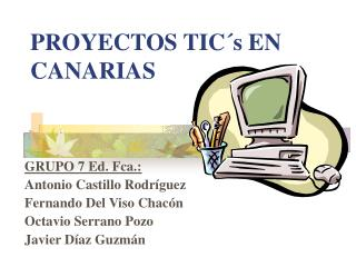 PROYECTOS TIC s EN CANARIAS