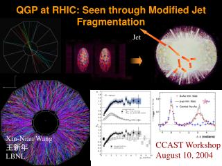 QGP at RHIC: Seen through Modified Jet Fragmentation