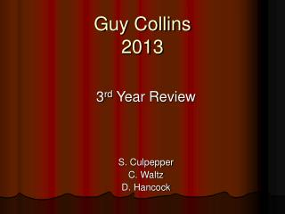 Guy Collins 2013