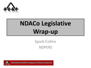 NDACo  Legislative  Wrap-up