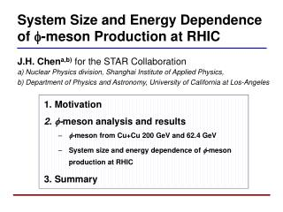 System Size and Energy Dependence  of  - meson Production at RHIC