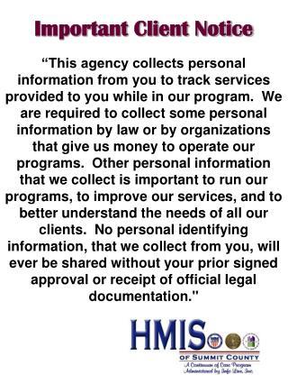 Important Client Notice