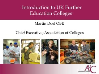 Introduction to UK Further Education Colleges
