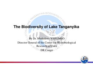 The Biodiversity of Lake Tanganyika
