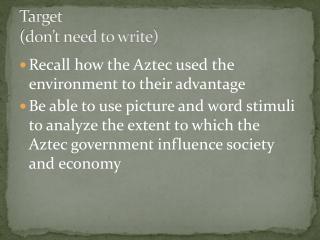 The Aztec Religion
