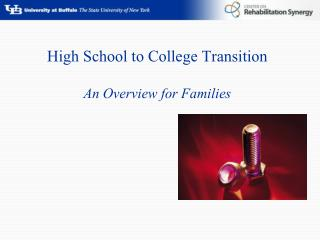 High School to College Transition An Overview for Families
