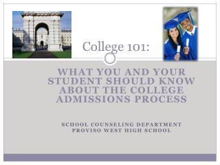 College 101: