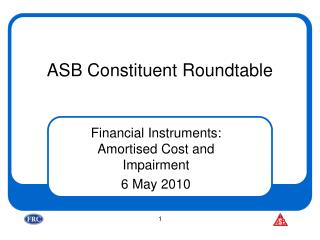 ASB Constituent Roundtable