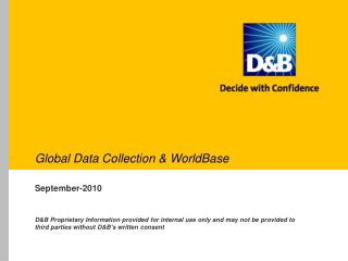 Global Data Collection & WorldBase