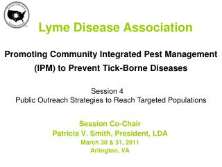 Promoting Community Integrated Pest Management (IPM) to Prevent Tick-Borne Diseases