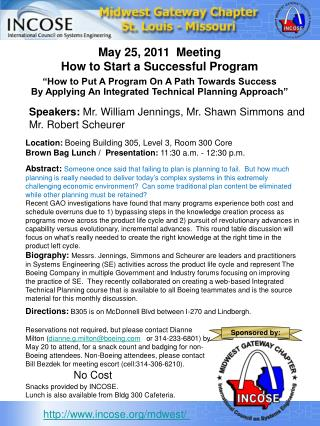 """How to Put A Program On A Path Towards Success"