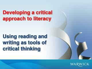 Why is critical literacy important?
